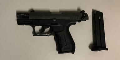 Mann bedroht in Wien Passanten mit Gaspistole