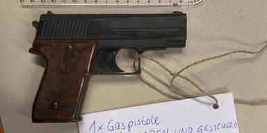 Mann zückt Waffe weil er keine GIS-Gebühren zahlen will