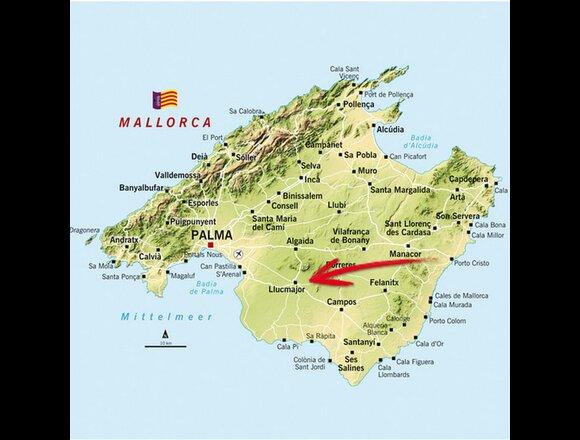 Unwetter Mallorca Karte.Mallorca Regen Führte Zu überschwemmung Wetter At