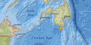 Schweres Erdbeben erschüttert Philippinen