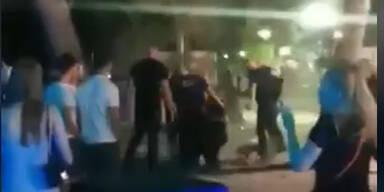 Brutale Schägerei: Securitys verprügeln Clubgäste