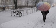 Winterdienst streute mit Prosciutto-Salz