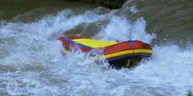 28-Jähriger nach Rafting-Unfall vermisst