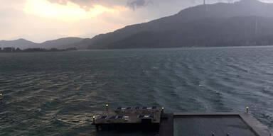 Schwere Gewitter in Österreich