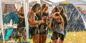 Unwetter: 114 Liter Regen in 48 Stunden