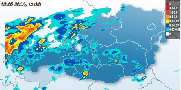 österreichwetter