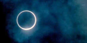 Ringförmige Sonnenfinsternis in Südamerika