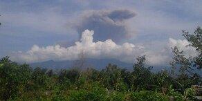 Indonesien: Vulkan Rinjani ausgebrochen
