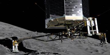 Rosetta landet auf Tschuri