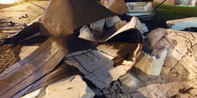 Schäden nach Sturm-Nacht in Rostock