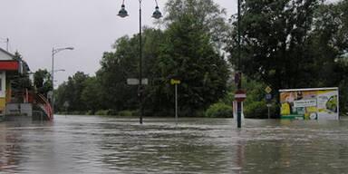 Hochwasser Margarethen