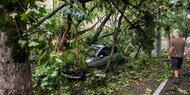 Schwerer Sturm in Rumänien - Acht Tote