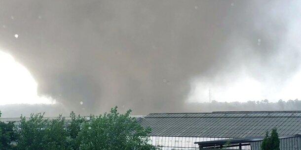 Tornado verwüstet deutsche Stadt