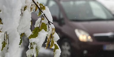 Wintereinbruch in Vorarlberg