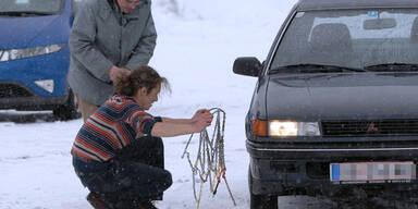 Schneekettenpflicht