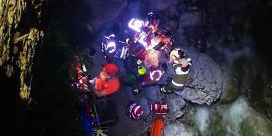 17-jähriger Mountainbiker stürzt in Schlucht
