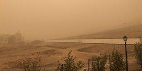 Sandsturm aus Sahara bringt Kanaren durcheinander