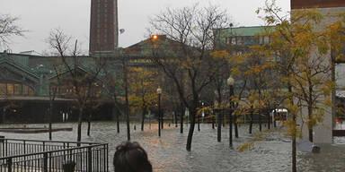 """""""Sandy"""" wütet an der Ostküste"""