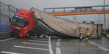 Unfall auf der S1