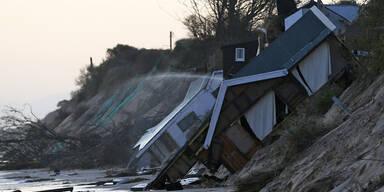 """""""Xaver"""" richtete schwere Schäden in England an"""