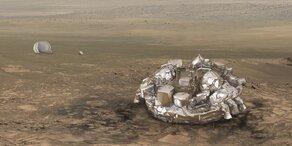 Navi-Fehler ließ Mars-Sonde abstürzen