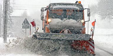 schnee-schneeräumung
