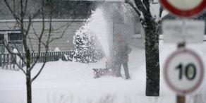 Jetzt kommt noch einmal Schnee!