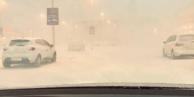 Schnee Wien Meidling