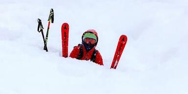 Schnee Leogang