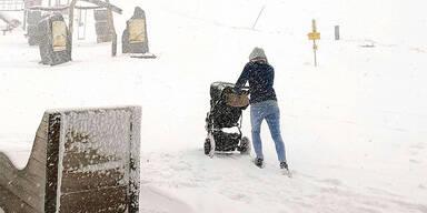 Wo es heute schneit