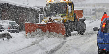 Schneewalze: Land Kärnten warnt vor Autofahrten