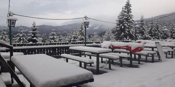 20 cm Neuschnee: Hier ist noch Winter