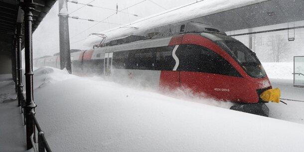 5 Meter Schnee am Arlberg