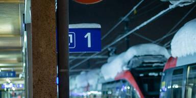 Schneechaos in Österreich