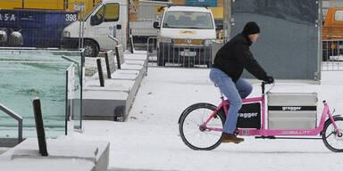 Auch in Oberösterreich hat es Schnee