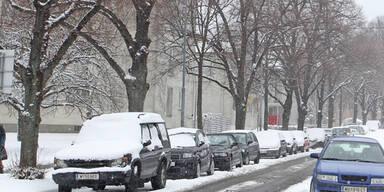 Jetzt ist auch Wien eingeschneit