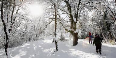 Die schönsten Schneebilder aus aller Welt