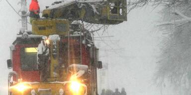 Schnee-Chaos am Arlberg
