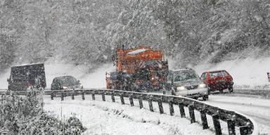 Zwei Meter Neuschnee: Wo es jetzt wann wie viel schneit