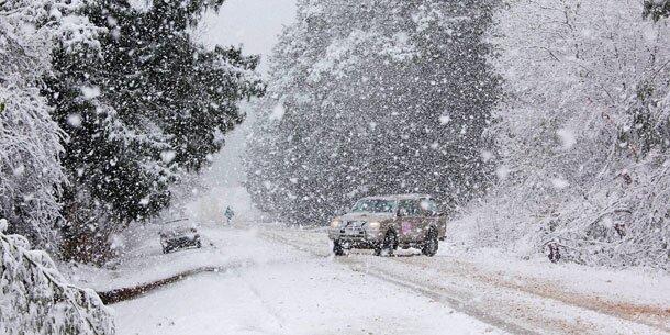 Südafrikaner staunen über ungewöhnlich viel schnee