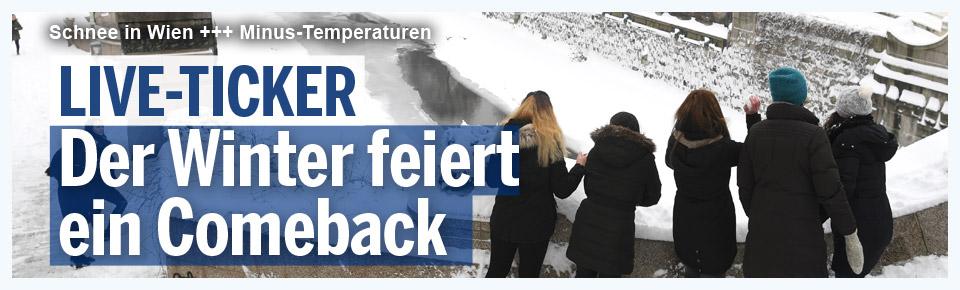 LIVE: Der Winter schlägt zurück