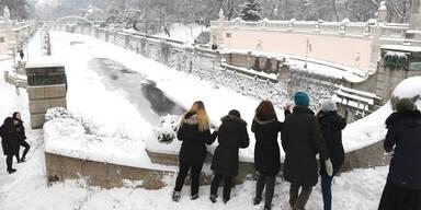 Schnee Wien