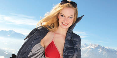 Schnee Winter Bikini