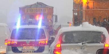 Unfall im Schnee