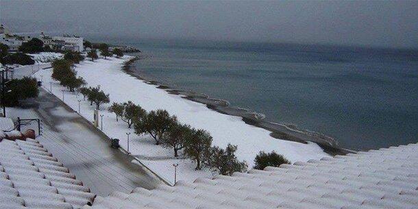 Griechenland Schnee