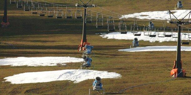 Bis minus 70 Prozent: Alpen droht Schnee-Krise