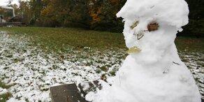 Herbst startet brutal: Jetzt kommt sogar Schnee