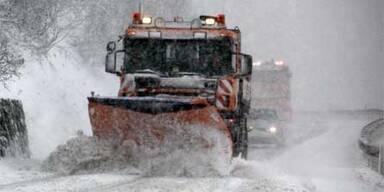 Wintereinbruch: Wo es heute schon schneit
