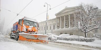 Jetzt kommt Schnee bis nach Wien