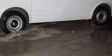 Regen-Chaos in Mörbisch